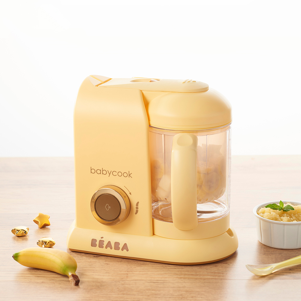 奇哥 BEABA BabyCook Solo嬰幼兒副食品調理機-馬卡龍黃