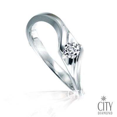 City Diamond『瞬間為永恆』8分鑽戒