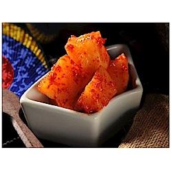 韓味不二 韓味道蘿蔔泡菜(700g/瓶)