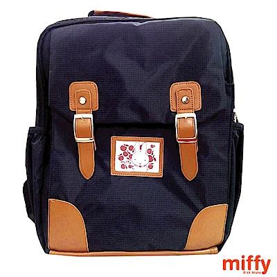 Miffy 米菲超輕巧護脊後背包(黑)