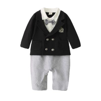 baby童衣 假兩件紳士禮服連身衣 37251