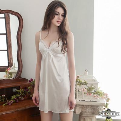 大尺碼 柔緞睡衣組L- 2 L Annabery