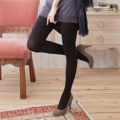 I-shi MIT 80D裡起毛保暖褲襪(黑x 3雙)