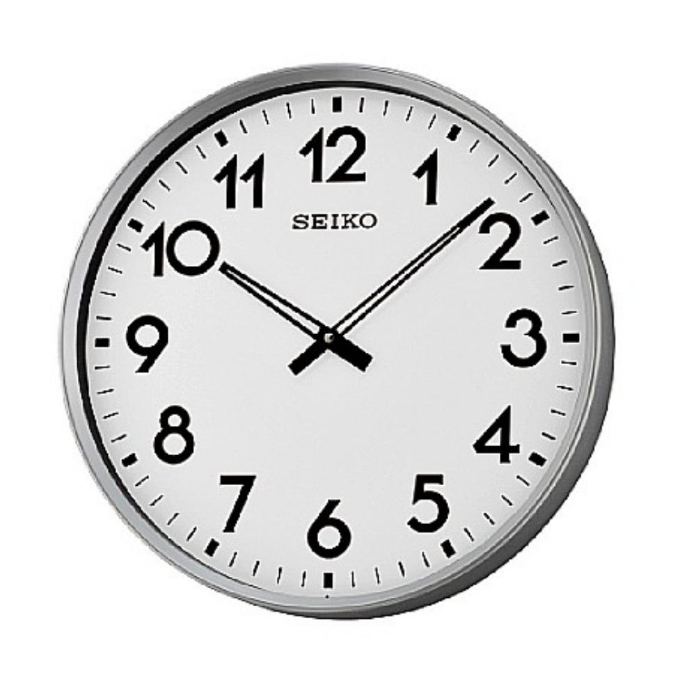 SEIKO 精工 大型辦公室掛鐘 標準鍾-白/42cm