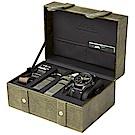 AVI-8 飛行錶 FLYBOY 飛行男孩時尚禮盒組 黑/43mm
