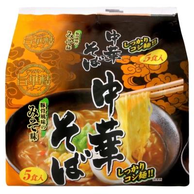 山本製粉 5入中華麵-味噌(450g)