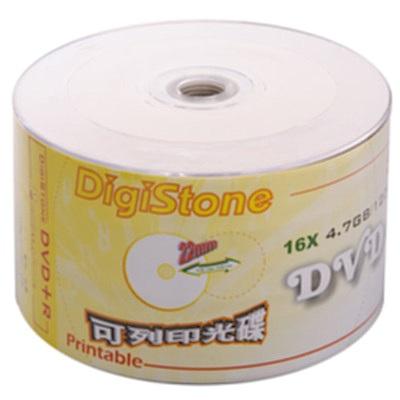 DigiStone 可印式A級 DVD+R  16 X 裸裝 (  600 片)