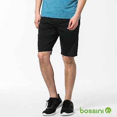 bossini男裝-速乾素色短褲02黑