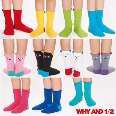 WHY AND 1/2 普普熊造型短襪 多色可選