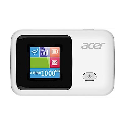 acer LTE-R1S 4G LTE無線網路分享器
