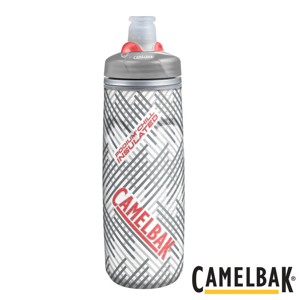 CAMELBAK保冷噴射水瓶銀白香柚620ml CB1300004062