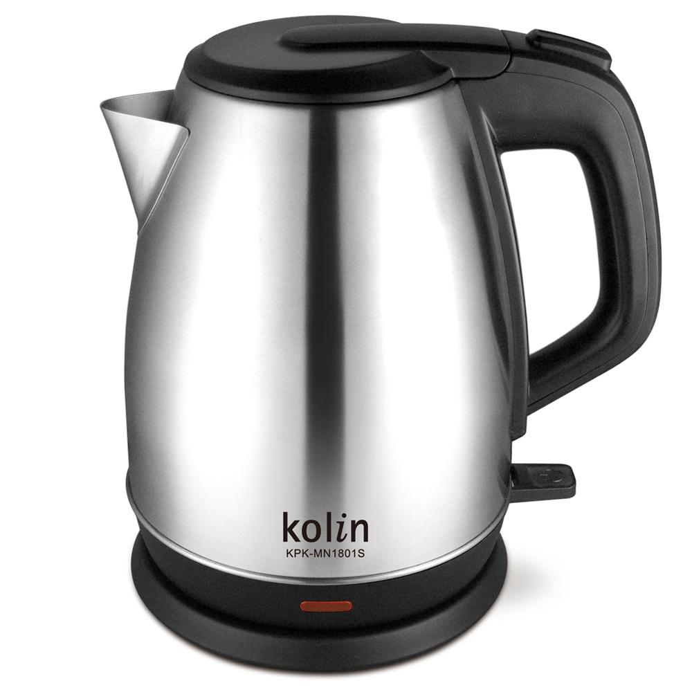 歌林1.8L不鏽鋼快煮壺KPK-MN1801S-快速到貨
