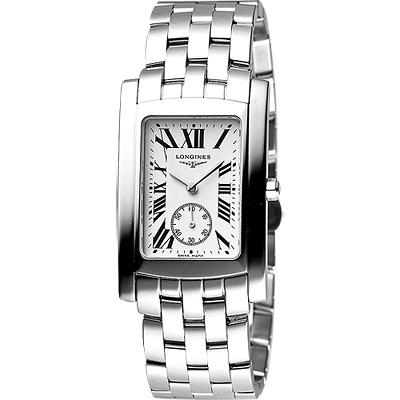 LONGINES-DolceVita-獨立小秒針腕錶-27x32mm