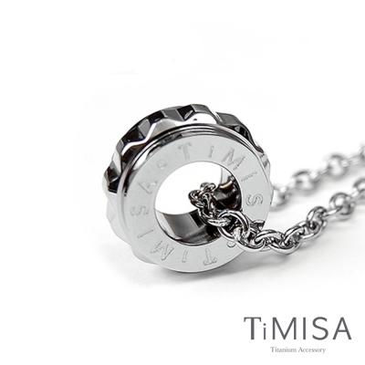 TiMISA 幸福御守M 純鈦項鍊