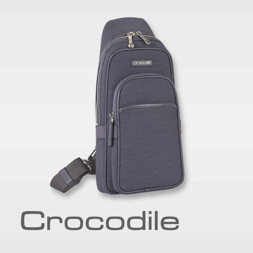 Crocodile Marvel布配皮系列單肩包  0104-07602 product image 1