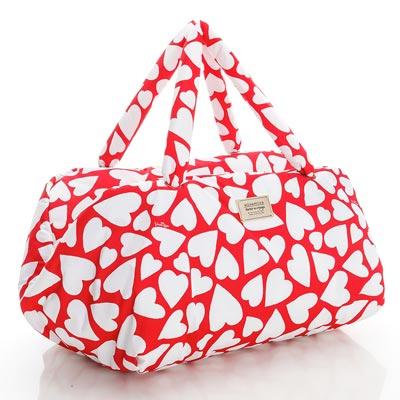 VOVAROVA空氣包-週末旅行袋-紅心皇后-法國設計系列