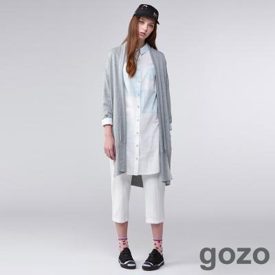 gozo海軍風雙排釦工裝褲-二色-動態show