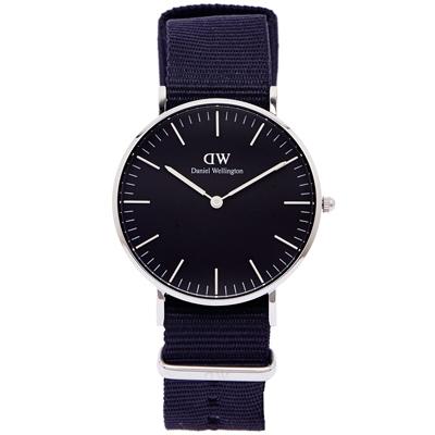 DW Daniel Wellington Cornwall手錶-黑面X黑色/36mm