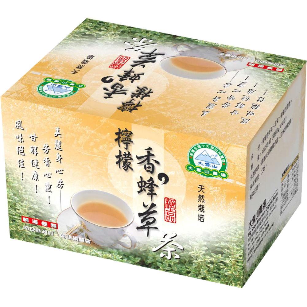 大雪山農場 檸檬香蜂茶包(10包x10盒)