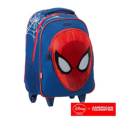 AT美國旅行者附輪拉桿後背包 Disney Marvel漫威漫畫聯名-蜘蛛人