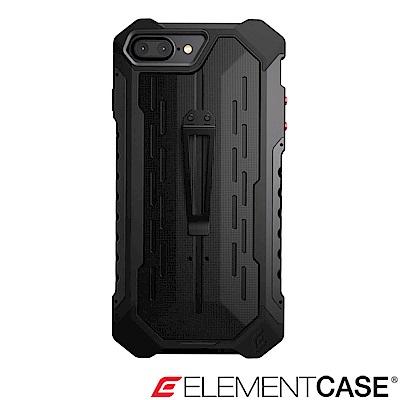 美國 Element Case iPhone 8+ Black Ops 強化防摔保護殼-黑
