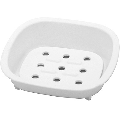 Sceltevie 濾水肥皂盒(白)