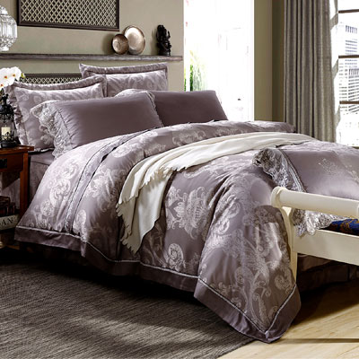 Saint Rose 愛~呼喚 加大 60支 天絲兩用被套床罩八件組