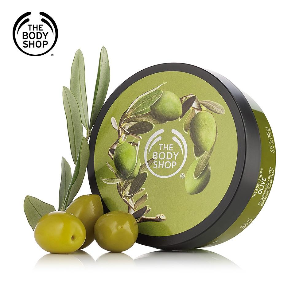The Body Shop 橄欖活化身體滋養霜- 200ML