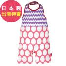 BIBPA 日本 露背式連身包屁衣 (波紫+粉)-純棉日本製