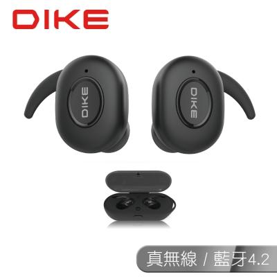 DIKE 真無線藍牙4.2防潑水耳機/黑 DEB515