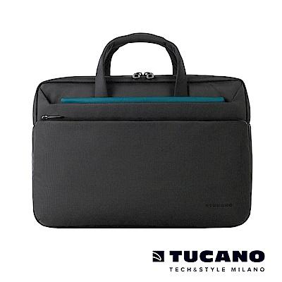 TUCANO WORK_OUT III 時尚亮彩薄型側背包 13吋-黑