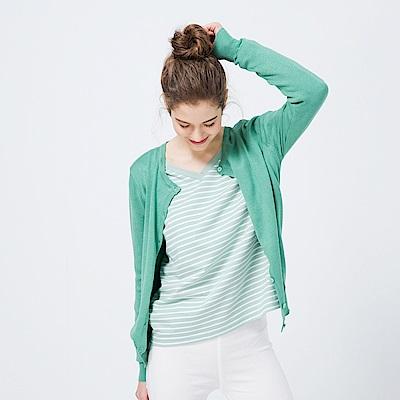CACO-夏日亮彩針織外套(七色)-女【PSH046】