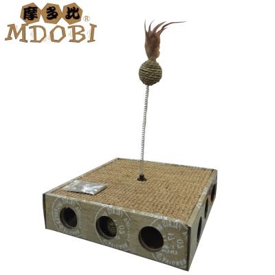 MDOBI摩多比-貓丸家 耐抓貓咪玩具盒-逗貓球