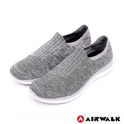 【AIRWALK】流線美學編織襪感休閒鞋