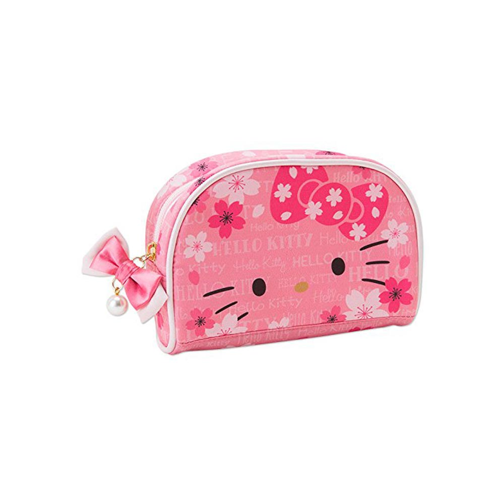 Sanrio HELLO KITTY和風春櫻系列化妝包