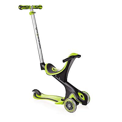 2018法國GLOBBER哥輪步EVO兒童5合1三輪滑板車-綠色