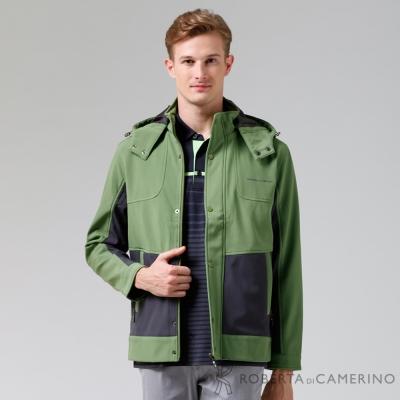 ROBERTA諾貝達-嚴選穿搭-休閒極品防潑水夾克外套-綠色