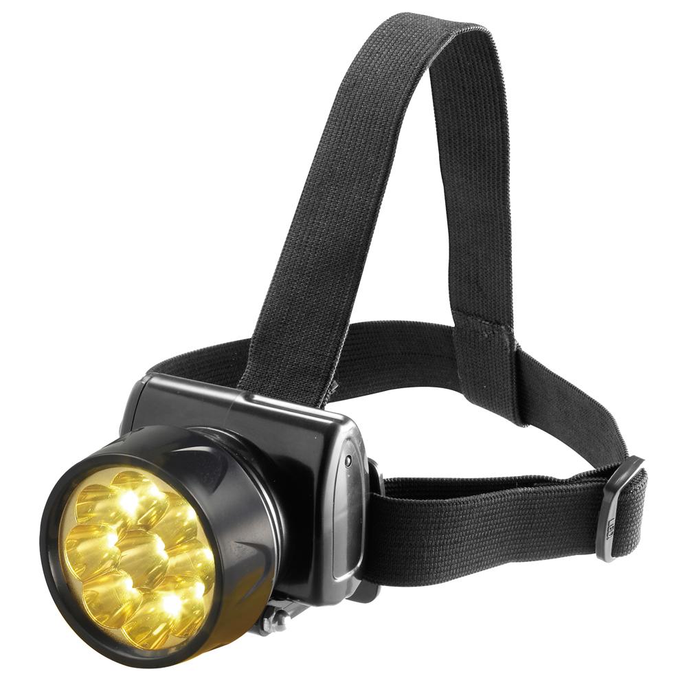 日象9Lamp充電式極亮LED頭燈(黃光) ZOL-7800D