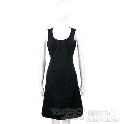 PIEIES UNIQUES 黑色綁帶無袖洋裝