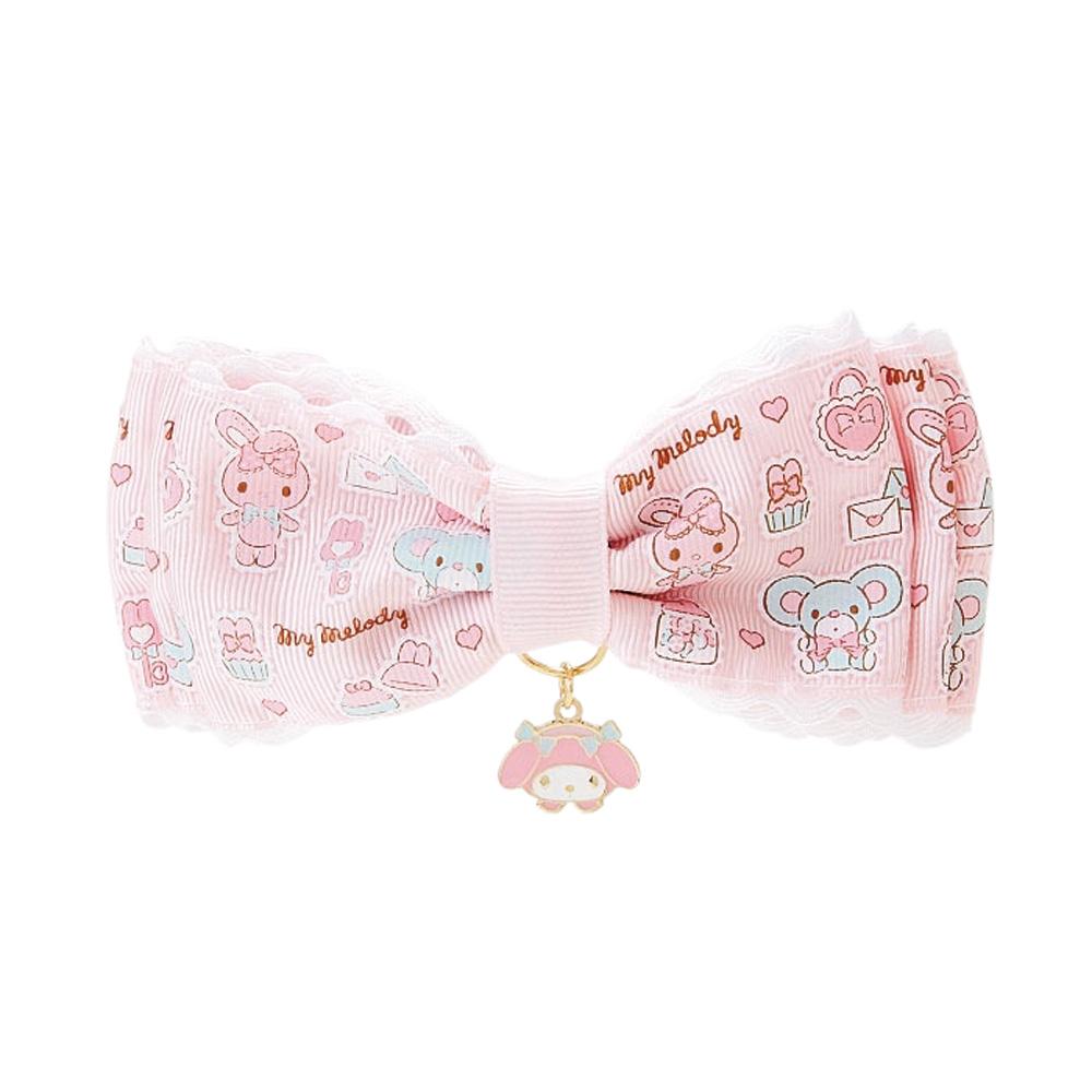 Sanrio 美樂蒂精心打扮系列大緞帶彈式髮夾