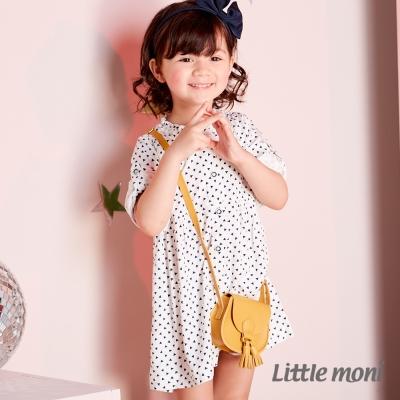 Little moni 甜美女孩襯衫洋裝 (共2色)