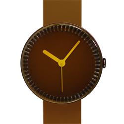 NAVA DESIGN 夢幻瓶罐個性腕錶-咖啡/40mm