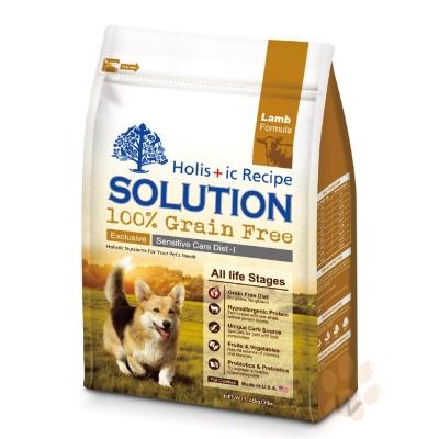 耐吉斯SOLUTION 無穀澳洲羊肉犬糧3磅 2入