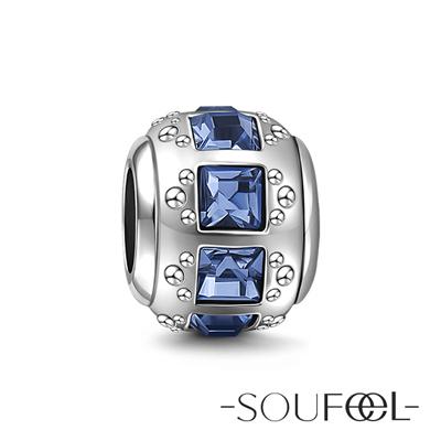 SOUFEEL索菲爾 925純銀珠飾 智慧 串珠