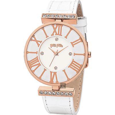 Folli Follie DYNAST 時尚教主腕錶 WF1B029SSS-WH