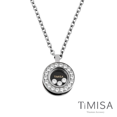 TiMISA《轉動幸福》純鈦項鍊(H)