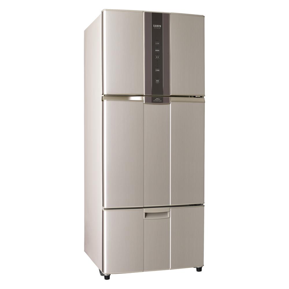 福利品-聲寶530L變頻三門冰箱SR-N53DV(R6)含基本安裝