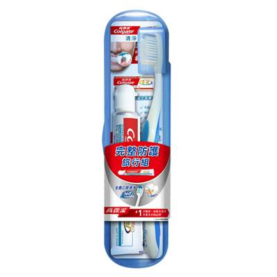 高露潔 護齒旅行組 (牙刷 1支 + 牙膏 45g)