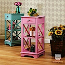 漢妮Hampton安琪拉小花架-粉紅色 33x33x70cm