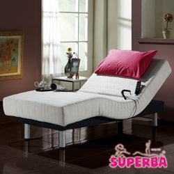 瑞士SUPERBA-Rigi線控乳膠電動床-單人3.3尺